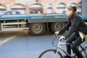 HGV cyclist