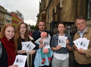 oxford protest picture